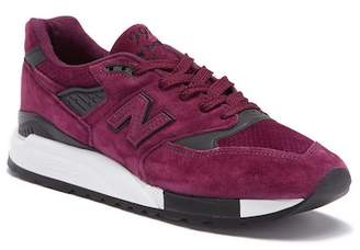 New Balance 998 Made in USA Suede Sneaker