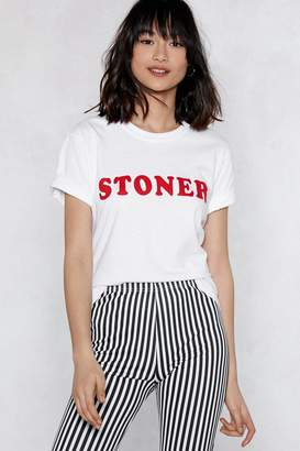 Nasty Gal Stoner Relaxed Tee
