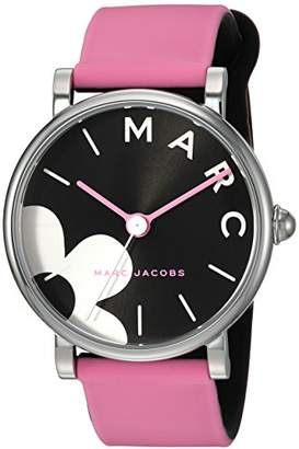 Marc Jacobs Women's Classic' Quartz Stainless Steel and Silicone Casual Watch