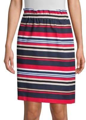 94c3db13f Donna Karan Striped Pull-On Skirt