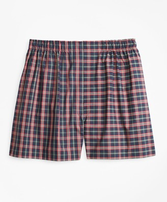 Brooks Brothers Traditional Fit Signature Tartan Boxers