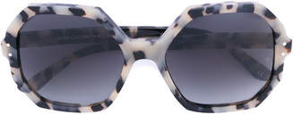 Oliver Goldsmith 'Yatton' geometric frame sunglasses