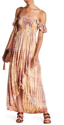 Tiare Hawaii Paradise Off-the-Shoulder Maxi Dress