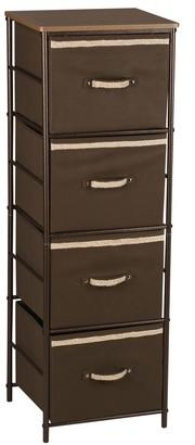 Household Essentials 4-Shelf Storage Tower