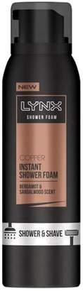 Lynx Copper Shower Foam 200ml