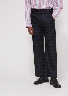 Marni Shetland Wool Check Trouser
