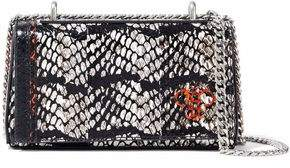 Emilio Pucci Painted Snakeskin Shoulder Bag