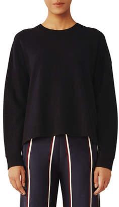 Tory Sport Lightweight Wool High-Low Top