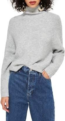 7389a00d221 Topshop Raglan Turtleneck Neck Sweater
