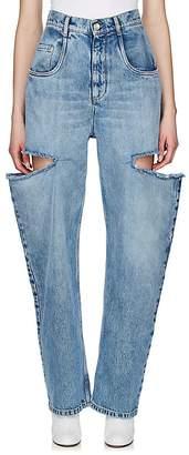 Maison Margiela Women's Cutout Bootcut Jeans