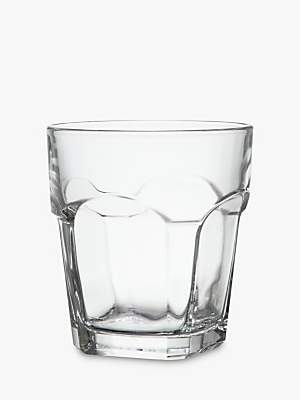 John Lewis & Partners House by Stackable Glass Tumbler, Clear, 270ml