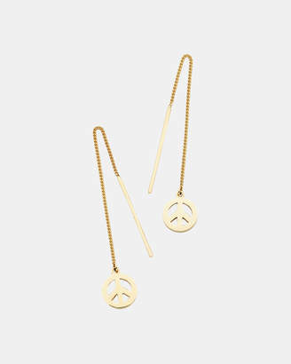 Karen Walker Peace Thread Earrings