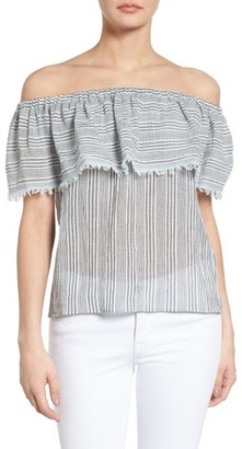 Women's Bailey 44 Fetir Cotton Off The Shoulder Top $148 thestylecure.com