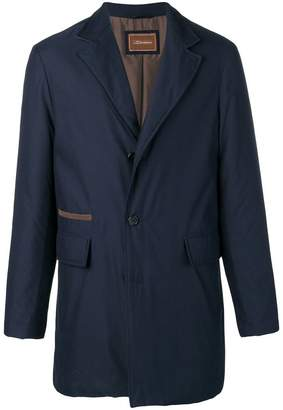 Doriani Cashmere shell single-breasted jacket