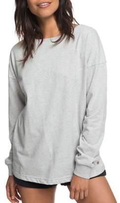Roxy Journey On Open Back Sweatshirt