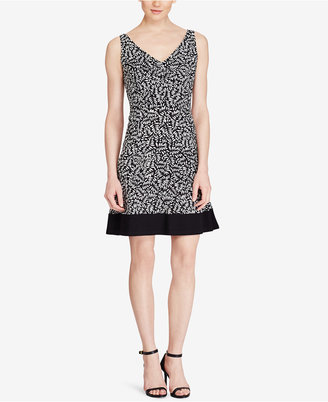 American Living Printed Fit & Flare Dress $79 thestylecure.com