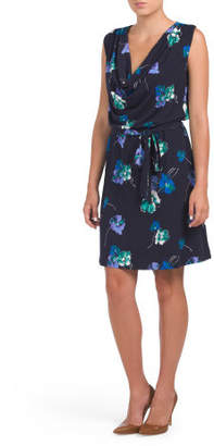 Made In Usa Lena Surplice Dress
