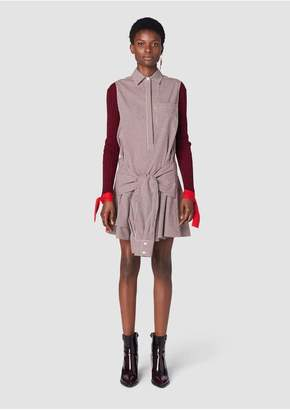 2f0b511c29dcab ... Derek Lam 10 Crosby Sleeveless Tie-Waist Shirtdress