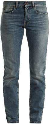 Saint Laurent Low-rise straight-leg boyfriend jeans