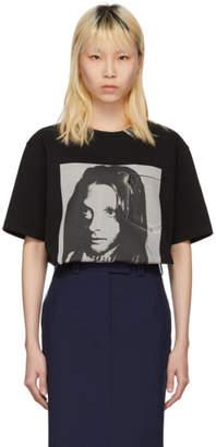 Calvin Klein Black Sandra Brant Pocket T-Shirt