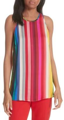 Milly Marie Rainbow Stripe Swing Tank