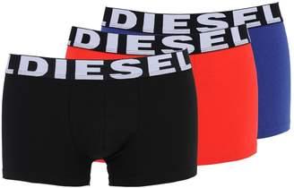 Diesel Pack Of 3 Stretch Cotton Boxer Briefs