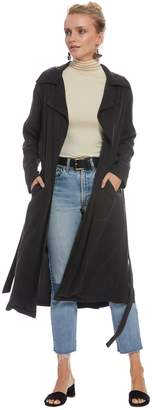 Twill Trench Coat - Asphalt