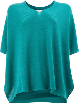 Lamberto Losani cashmere V-neck knit top