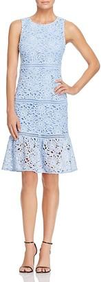 AQUA Lace Flounce Dress - 100% Exclusive $98 thestylecure.com