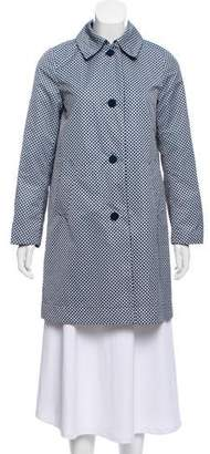 Max Mara Weekend Print Trench Coat