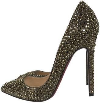 Christian Louboutin Pigalle glitter heels