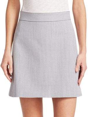 Theory High Waist Mini Skirt