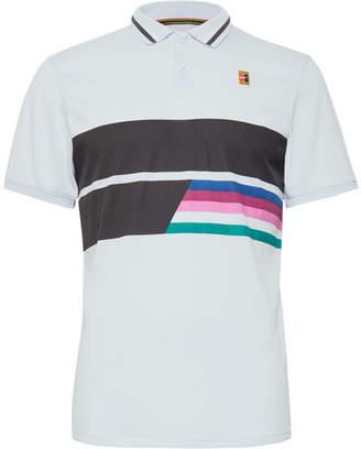Nike Tennis Nikecourt Advantage Printed Dri-Fit Tennis Polo Shirt
