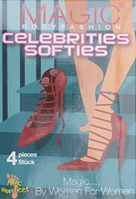 Magic Body Fashion Magic Bodyfashion Women's Celebrities Softies Ankle Socks
