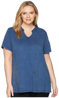 Aventura Clothing Plus Size Casia Short Sleeve Top Women's Clothing