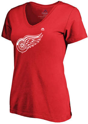 Majestic Women's Detroit Red Wings Primary Logo T-Shirt