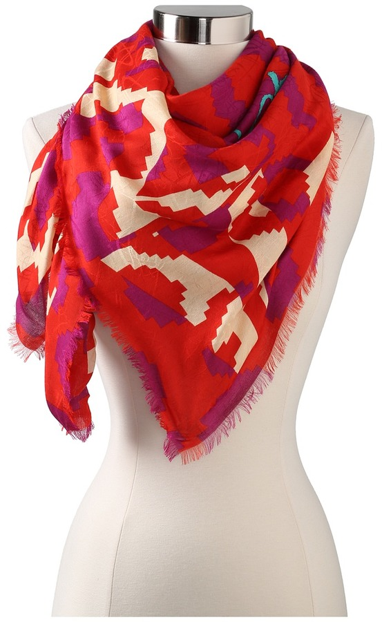 Vivienne Westwood New Winter Leopard Scarves