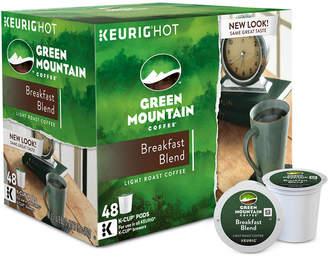 Keurig Green Mountain Coffee Breakfast Blend 48-Ct. K-Cup Value Pack