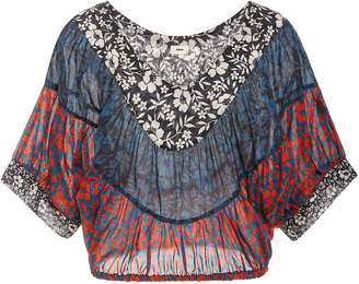 Warm Sol Cropped Top