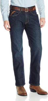 Ariat Men's M5 Rebar Slim Straight Cut Stretch Jean