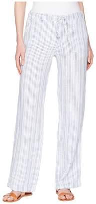 Allen Allen Stripe Long Pants Women's Casual Pants