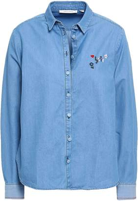 4d6d7581756 Women Light Blue Chambray Shirt - ShopStyle UK