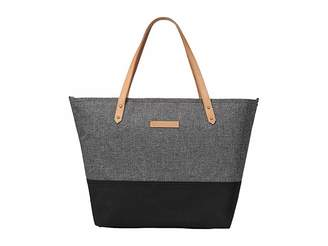 Petunia Pickle Bottom Glazed Color Block Downtown Tote