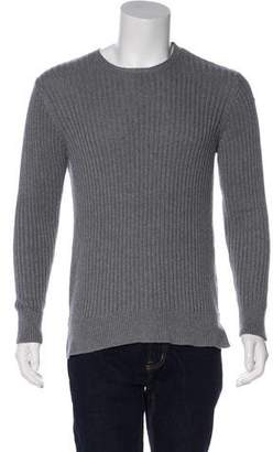 Ovadia & Sons Rib Knit Crew Neck Sweater
