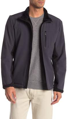 Tumi Faux Fur Soft Shell Jacket