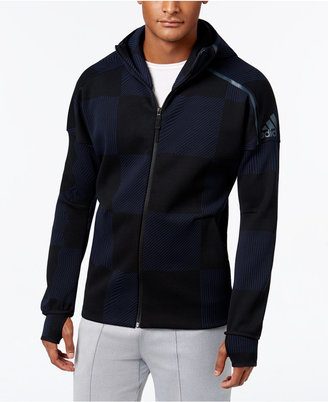 adidas Men's ZNE Printed Hoodie $120 thestylecure.com