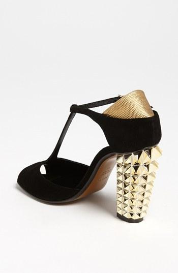 Fendi 'Polifonia' T-Strap Sandal