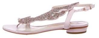 Sophia Webster Angel-Wing Glitter Sandals