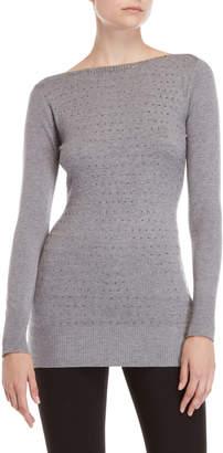 Vila Milano Studded Bateau Sweater
