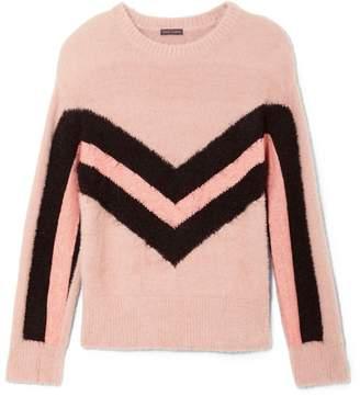 Vince Camuto Chevron-stripe Sweater